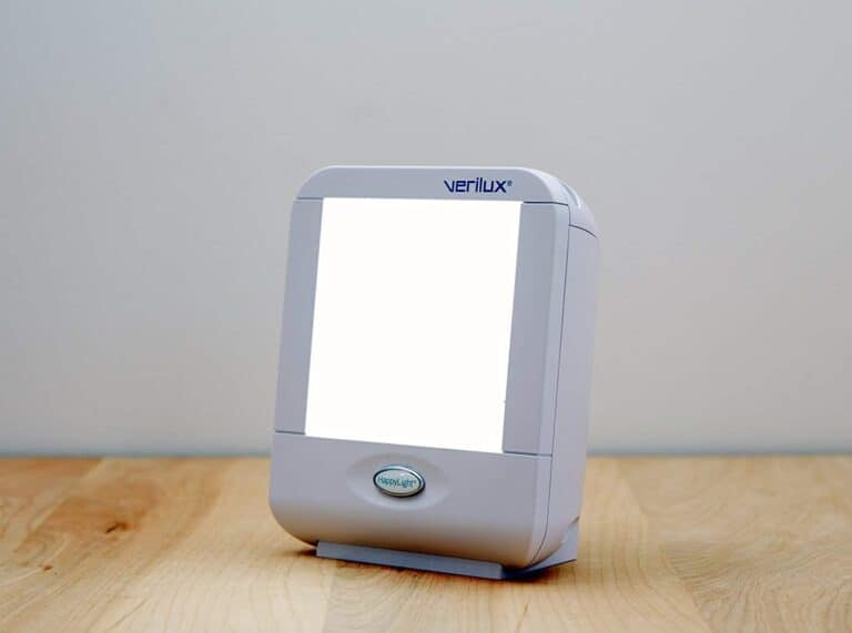 Verilux VT10WW1 HappyLight Liberty Compact Light Therapy Lamp