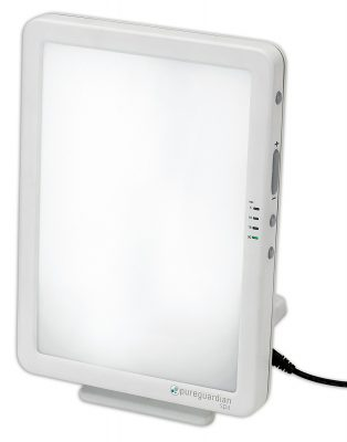 PureGuardian 10,000 LUX Full Spectrum Energy Light with Customizable Blue or White Light Therapy Intensity