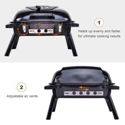 Pinty Portable Charcoal Barbecue