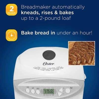 Oster Ckstbrtw20 Machine à pain