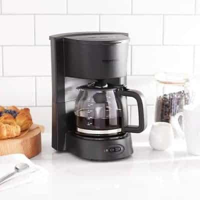 AmazonBasics 5-Cup Coffeemaker