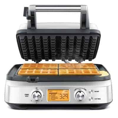 Breville BREBWM640XL 4 Slice Waffle Maker
