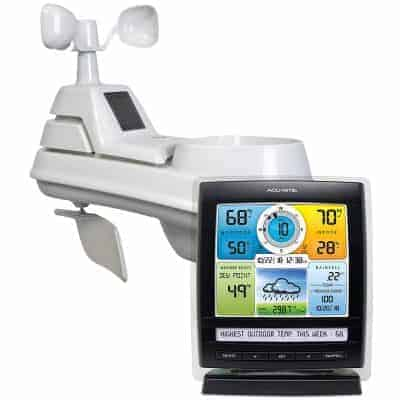 AcuRite 01512 Pro Color Weather Station with Rain
