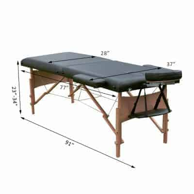 Soozier 91inches Portable Massage Table