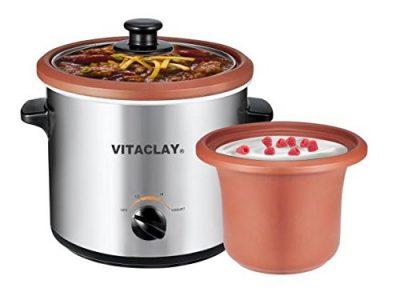 VitaClay VS7600-2C 2-in-1 Yogurt Maker