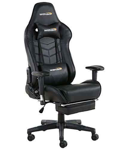 WENSIX Ergonomic Gaming Chair Recliner Computer