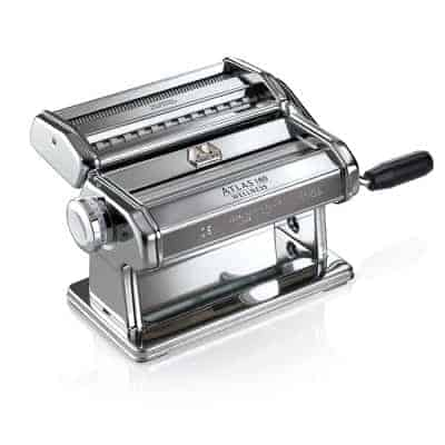 Marcato Atlas 180 Pasta Maker with A Polished Finish