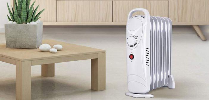 Optimus H-6003 Portable Oil Filled Radiator Heater