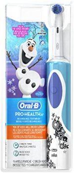 Brosse à dent électrique_Oral-B Kids Electric Toothbrush Featuring Disney's Frozen