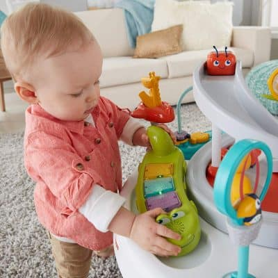 Fisher-Price-2-in-1 Exerciseur Bébé