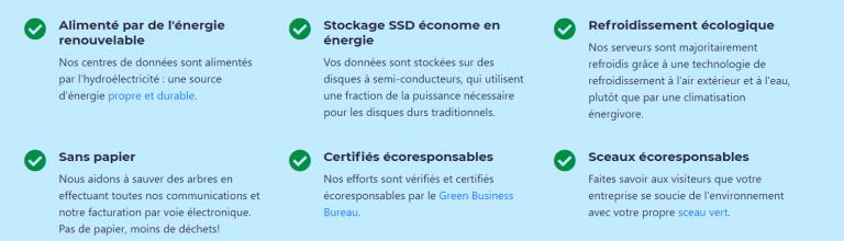 WHC - Hébergement eco-responsable