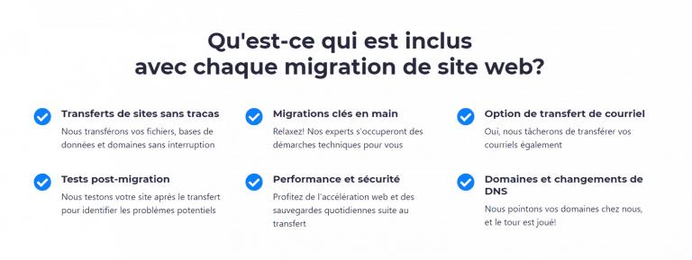 WHC - Migration de site
