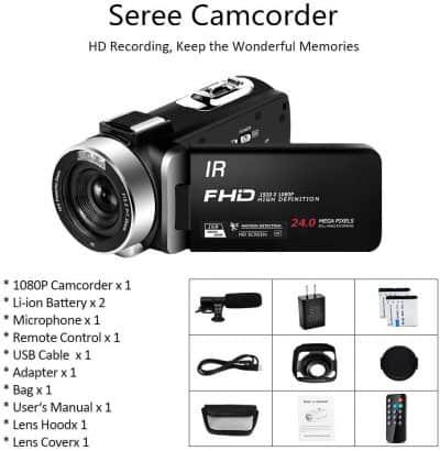 Caméscope_Seree V5I