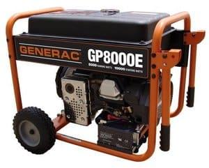 Génératrice_Generac GP8000E
