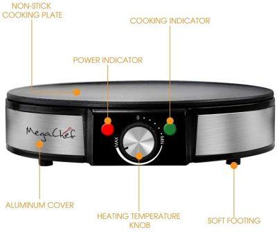 Megachef MC-2900PM_Crêpière électrique
