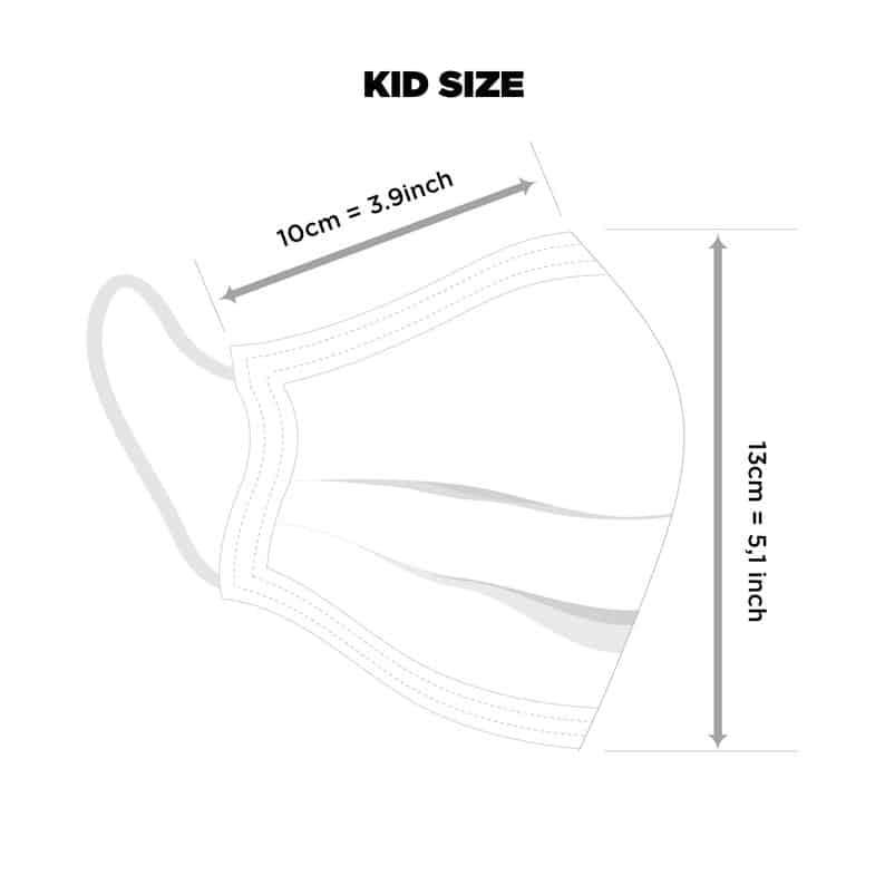 Masque lavable pour les enfants du Canada Masque de coton image 1