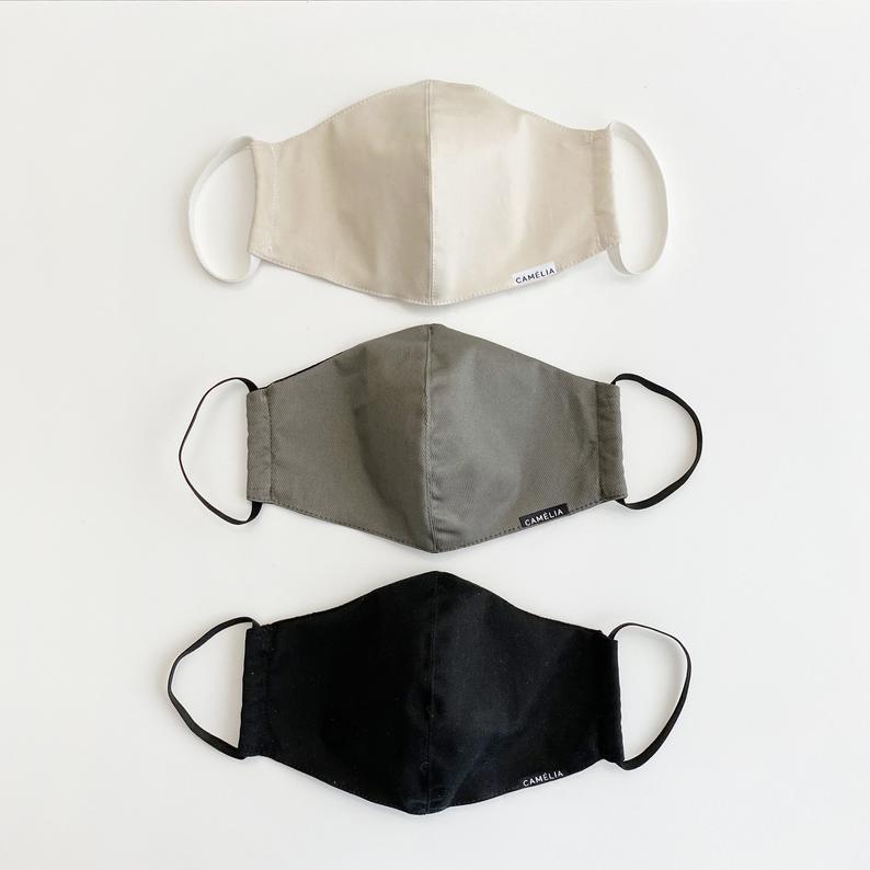High Quality Face Mask Washable Reusable 100% Cotton image 0