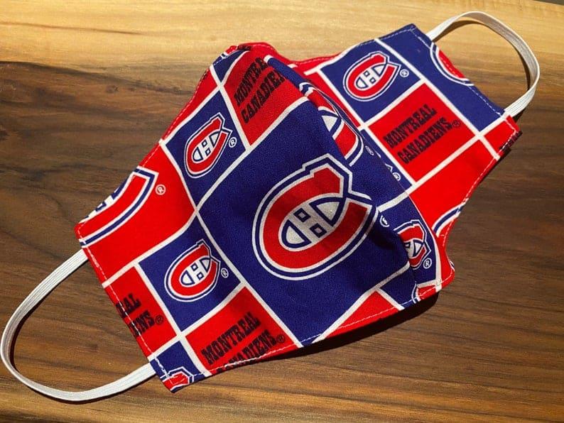 Masque facial de la LNH Maple Leafs de Toronto Canadiens Montreal Canadiens