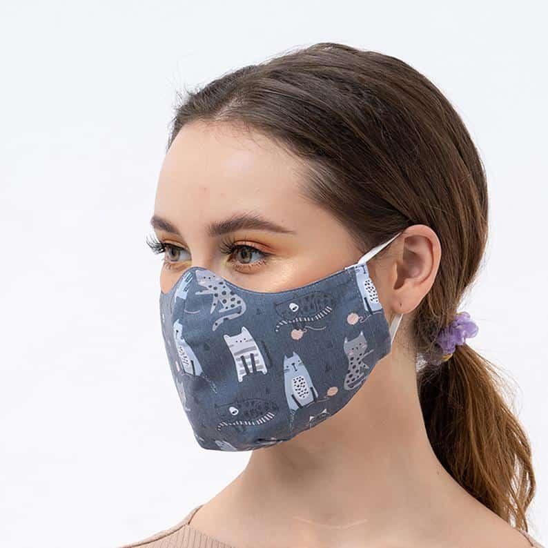 Masque réutilisable avec poche de filtre Lavable à la image 0