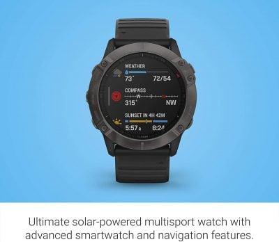 Montre GPS_Garmin Fenix 6X Pro